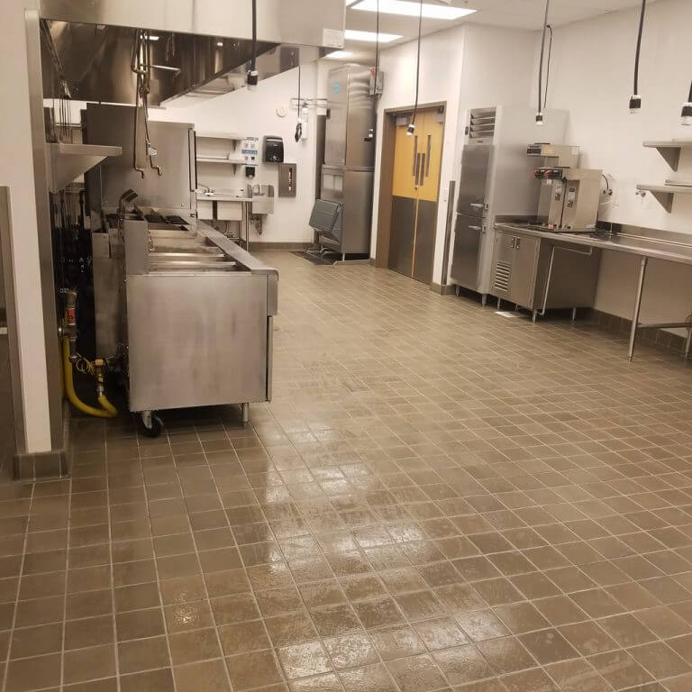 restaurant kitchen cleaner