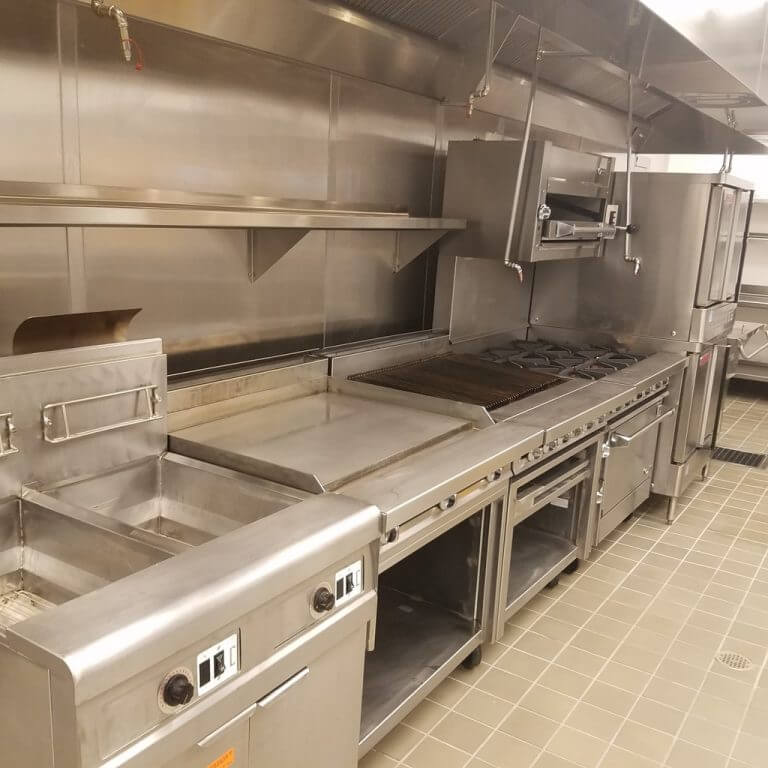 Commercial Restaurant Equipment Cleaning Service
